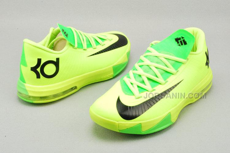fc4fc1366ad2 Nike Zoom KD 6 Neon Green For Sale