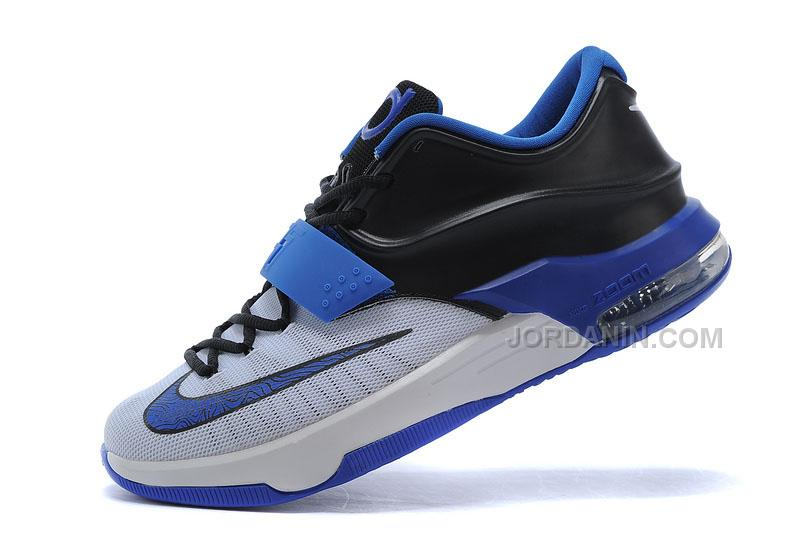 huge selection of 98b29 82da9 Online Nike Zoom KD 7 Blue Black White