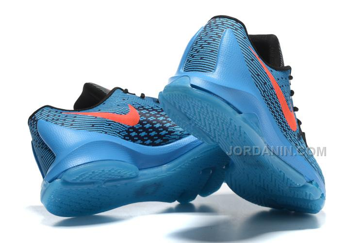 huge discount 87cb7 9574c Nike KD 8 Blue Black Orange Sale
