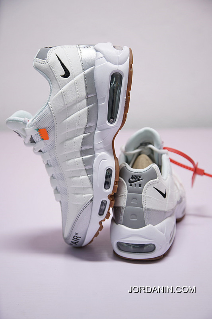 761183ffe86 Salute Virgil Abloh Designers Off White Nike Air Max 95 Retro X Zoom  Jogging Shoes Ow Siliver Black Tangerine 609048-109 Free Shipping