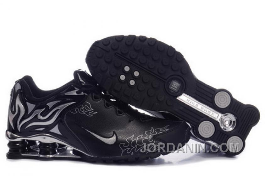 Women s Nike Shox Torch Shoes Black Silver Brilliant Silver Free Shipping f491d5a83