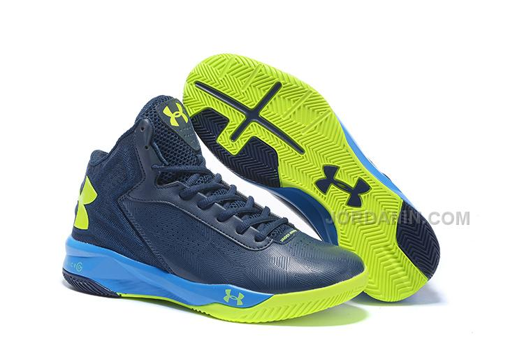 huge discount a54f0 dc798 Under Armour ClutchFit Drive II Navy Volt Blue Sale