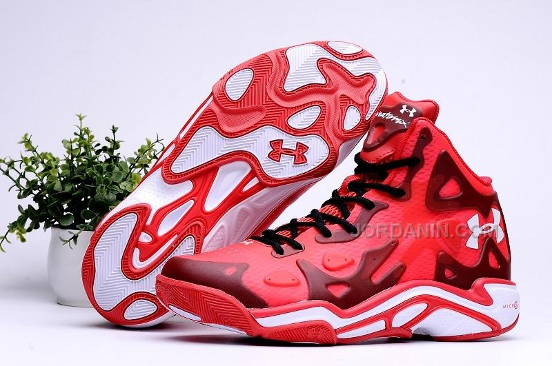 pretty nice 2b4a1 6976b Under Armour UA Micro G Anatomix Spawn II Gym Red White Sale