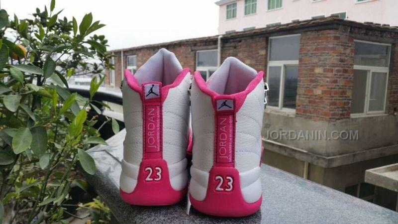 ee5c4409252 Women Air Jordan 12 GS Dynamic Pink Sneaker AAA 212, Price: $88.00 ...