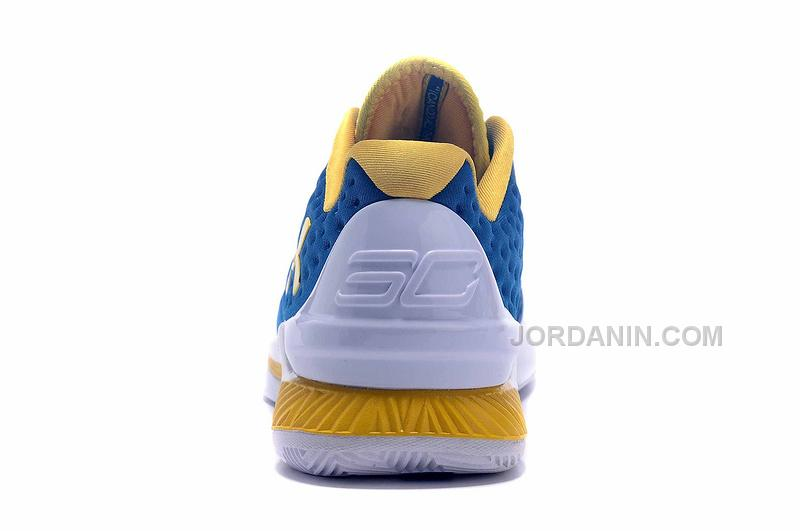 b9df6c4fcf1e Hot Womens Under Armour Curry One Low Royal Blue Yellow White